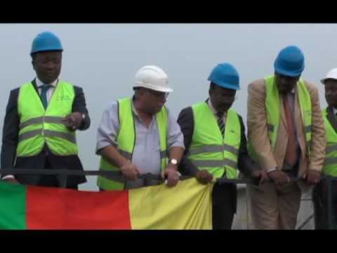 Cameroon-construction second bridge over the wouri,work stands at 80percent