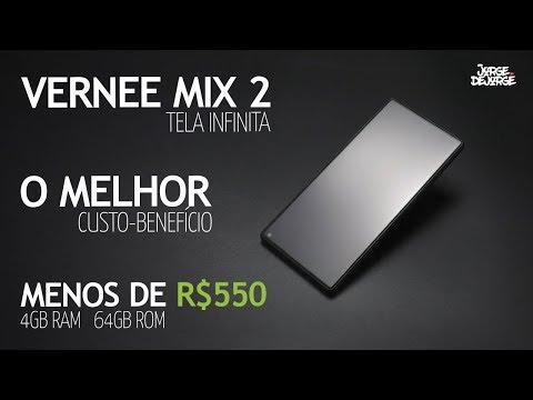 ★ Tela Infinita: Vernee Mix 2 (melhor custo-benefício) 4GB RAM   64GB ROM