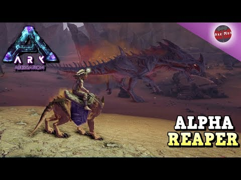 ALPHA REAPER RUINS EVERYTHING | ARK ABERRATION DLC [EP16]