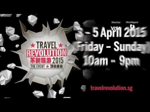 3-5 April 2015: Travel Revolution 2015 - The Event (English TVC)
