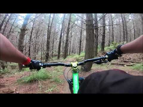 Woodhill mountain bike park (full loop), West Auckland, New Zealand