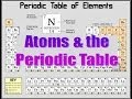 Atoms & the Periodic Table (updated)