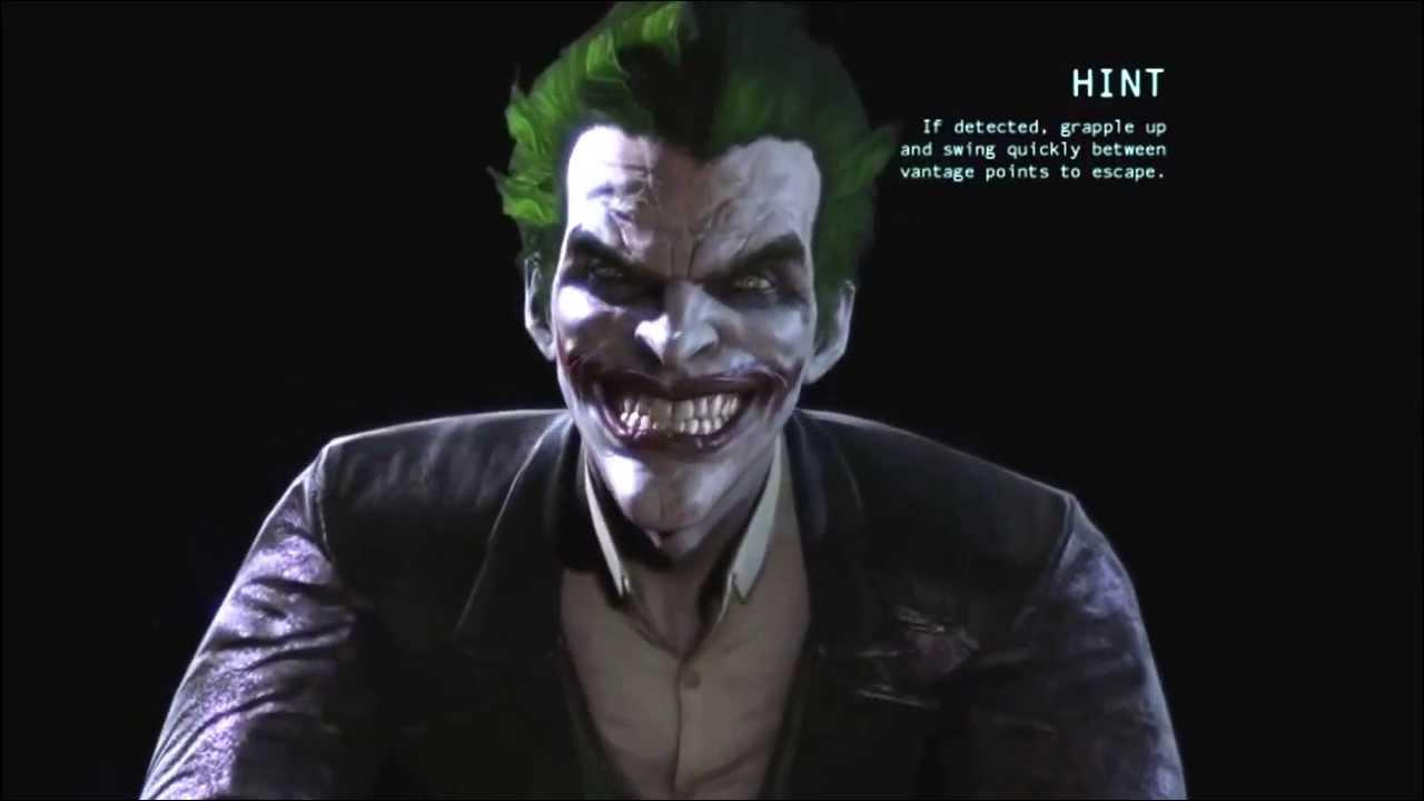 Batman arkham origins джокер