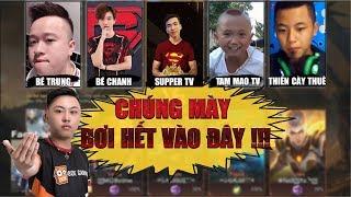 SIÊU KINH ĐIỂN | Bé Chanh, Supper TV, Tam Mao TV, Thiên Cày thuê leo Rank