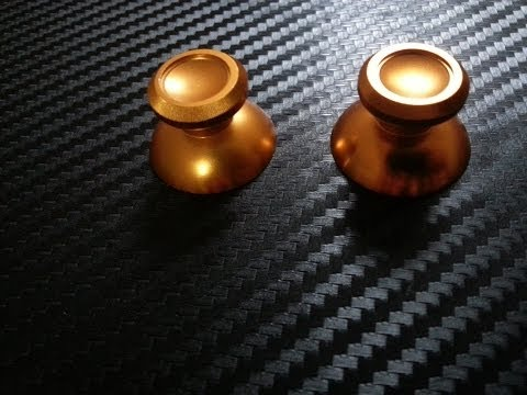 Xbox One Gold Metal Chrome thumbsticks THE MAN'S THUMBSTICKS