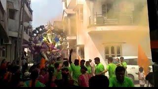 Shree Harikrushna society Yuvak mandal ( Godhra ) Visharjan yarta 2018/ Godhra ganesh mahotshav 2018