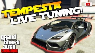 GTA 5 Online Import/Export Update: 🛠🚘Pegassi Tempesta Live Tuning!🛠🚘 [PS4 Gameplay]