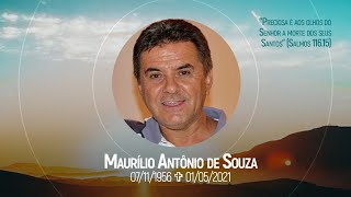 2021-05-02 - Culto em ação de graças pela vida de Maurílio Antônio de Souza - Salmos 116.15