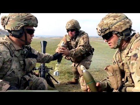 M252A1 81mm Mortar Live-Fire • U.S. Army Training