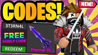 *7 CODES* ALL NEW MURDER MYSTERY 2 CODES AUGUST 2021 | ROBLOX MM2 CODES 2021 *UPDATED*