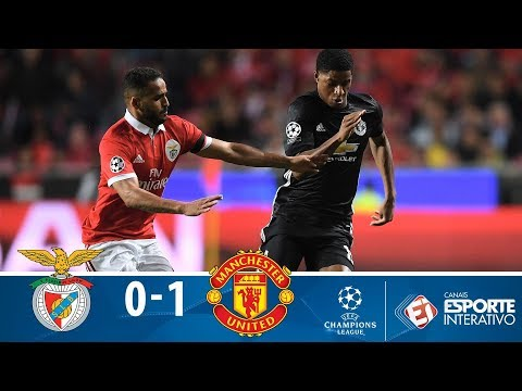 Melhores Momentos - Benfica 0 X 1 Manchester United - Champions League (18/10/2017)