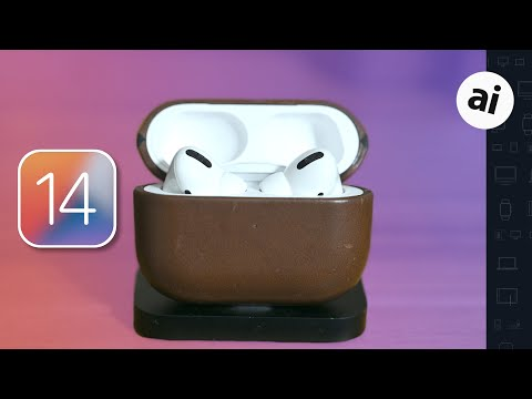 Everything New with AirPods & AirPods Pro in iOS 14!! 😲🤯