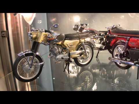 Zweirad Modelle von Schuco auf der Intermodellbau 2015