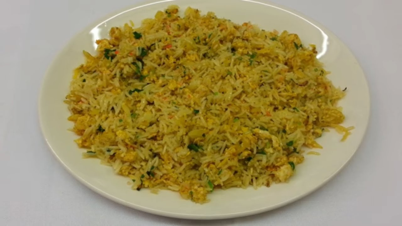 Egg fried rice indian cooking rice basmati spicy pilau rice frying egg fried rice indian cooking rice basmati spicy pilau rice frying youtube ccuart Gallery