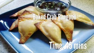 Baked Crab Rangoon Recipe