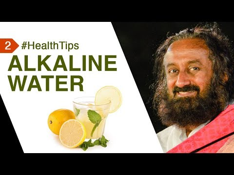 Alkaline Water Is A Life Saver And It's Easy To Make! #HealthTipsByGurudev | Health Tip 2