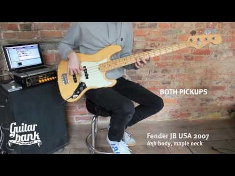 Download Youtube: Fender jazz bass comparison USA vs MIM vs MIJ