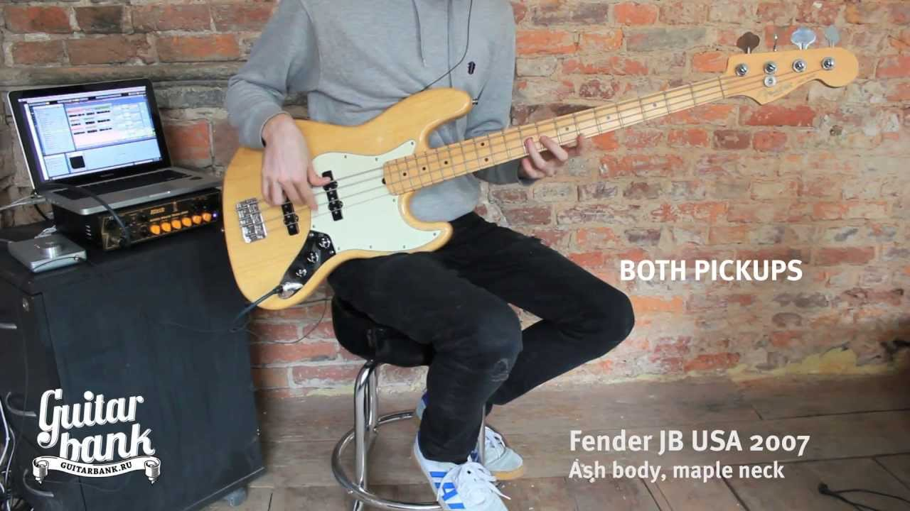Fender USA Jazz Special vs Fender Mexican Jazz - YouTube