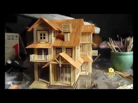 Nha tam tre - Hướng dẫn làm nhà tăm