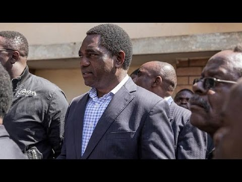 Zambia's opposition leader transferred to a prison in Lusaka