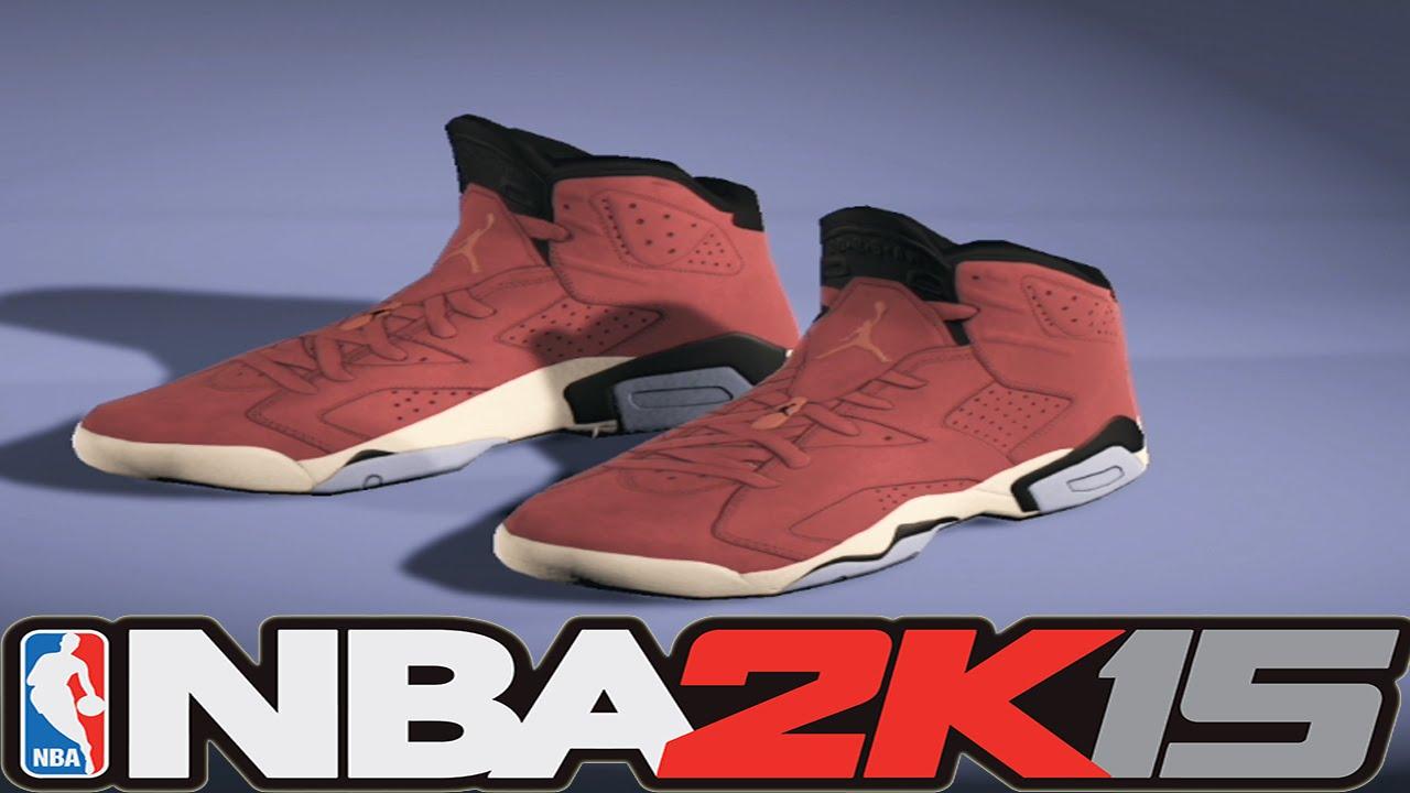 93fa7c962de1 NBA 2K15 Shoe Creator - Air Jordan 6 Clay Suede ⋆ NBA2K15⋆ - YouTube