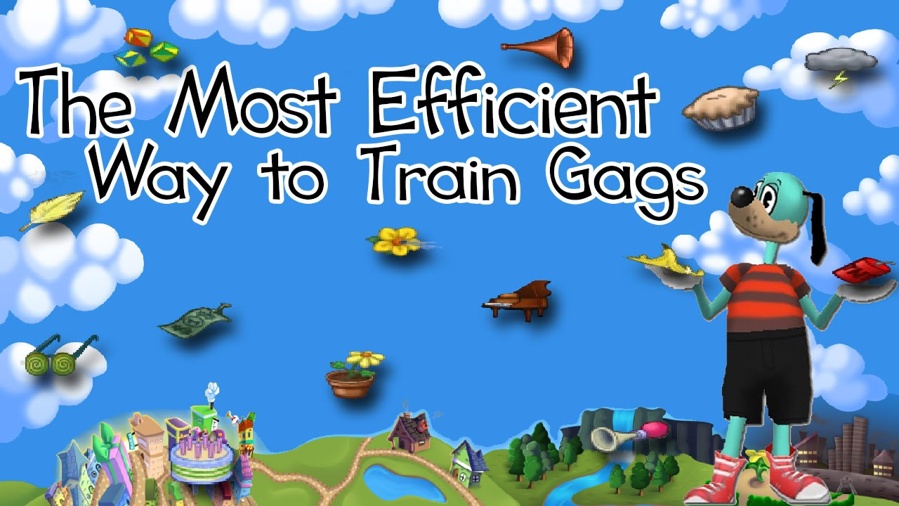 most efficient way to train all gags toontown rewritten tips and rh youtube com toontown player guide Toontown Rewritten