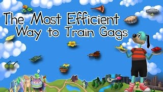 Most Efficient Way to Train All Gags!! (Toontown Rewritten Tips and Tricks)