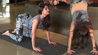 See Shilpa Shetty's H0t Yogaa Exercisee | Learning For People Easily