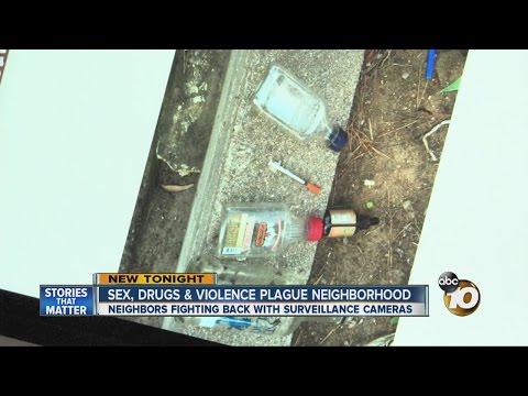 Sex, drugs & violence plague San Diego neighborhood
