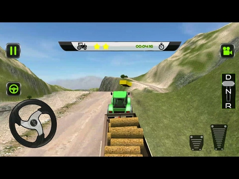 Tractor  Driver Transport 2017 - Android Gameplay FHD