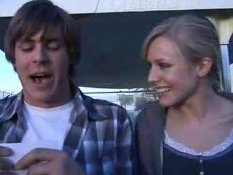 "Kristen Bell and Chris Lowell - ""Interview"""