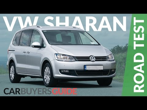 Volkswagen Sharan New Car Test Drive Review 2017