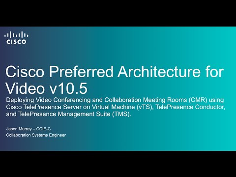 Deploying Cisco Video Conferencing And Collaboration Meeting Rooms (CMR)