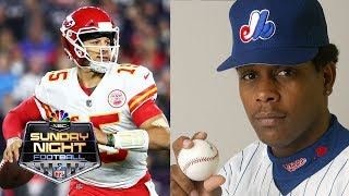 Patrick Mahomes on how MLB players influenced his outlook I NFL I NBC Sports