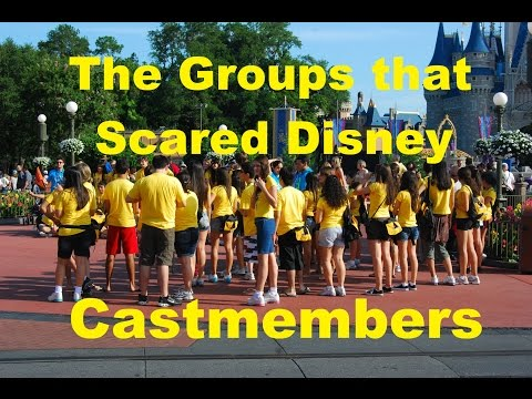 The Groups that had Disney World Cast Members Afraid- Ep 15 Confessions of a Theme Park Worker