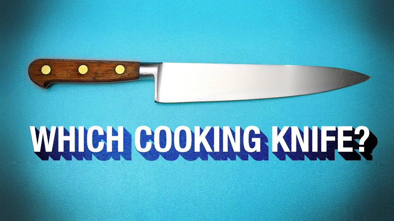 3 Cooking Knives you can\'t live without ! - YouTube