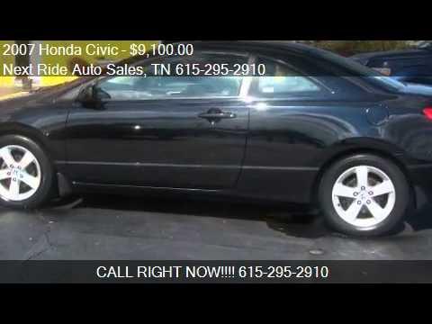 2007 Honda Civic EX Coupe - for sale in Murfreesboro, TN 371