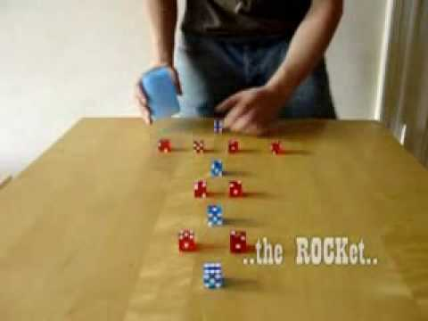 Fastest Dice Stacking in the World !