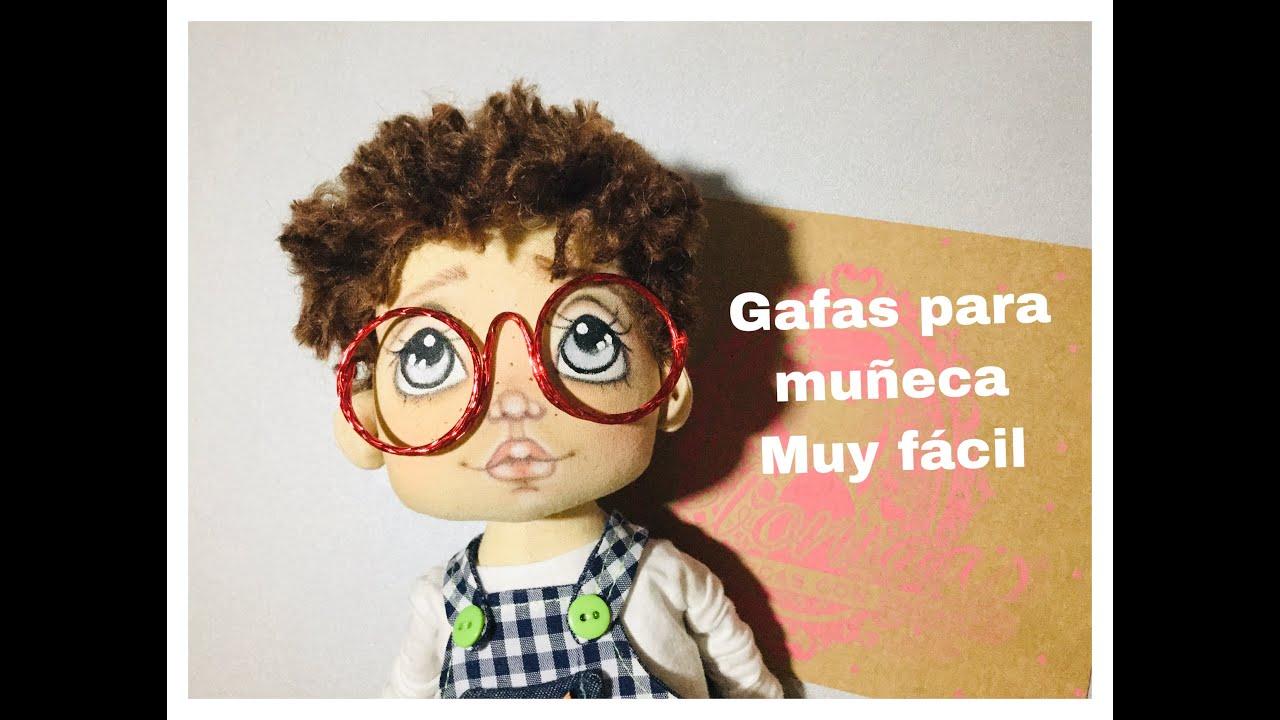 GAFAS PARA MUÑECA MUY FACIL