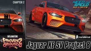 Need For Speed No Limits: Jaguar XE SV Project 8 | Proving Grounds (Chapter 2 - Try-Outs)