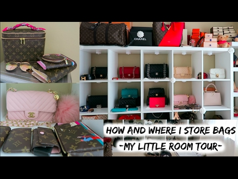 Updated How Where I My Bags New Lv Chanel Reveal Room Tour