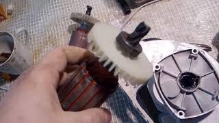 Штроборез Hammer STR150, обзор, отзыв, ремонт, работа.