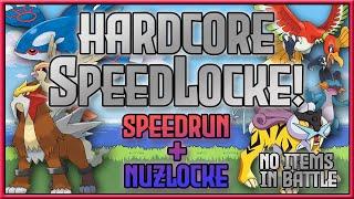 Hardcore SpeedLocke! Speedrun + Nuzlocke