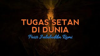 PUISI RUMI   Tugas Setan di Dunia - Puisi Jalaluddin Rumi