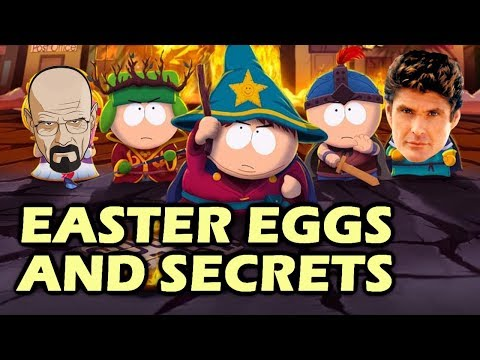South Park: The Stick Of Truth Easter Eggs And Secrets HD