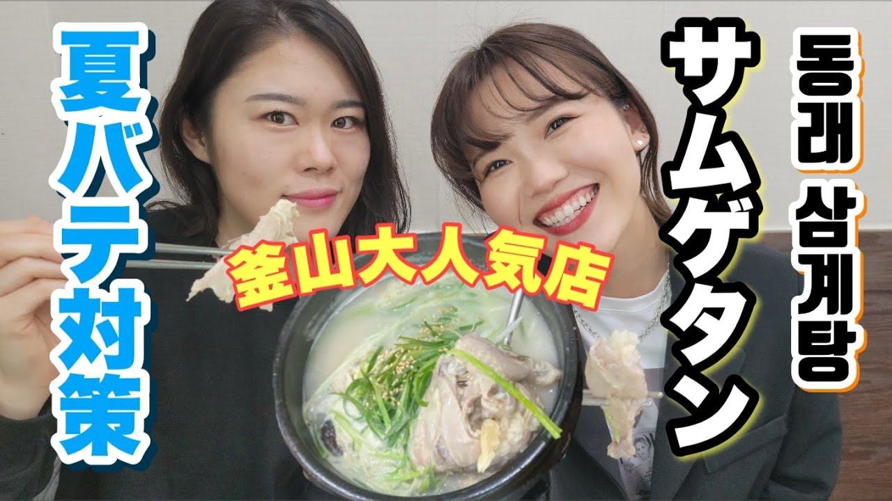 【韓国】韓国料理の定番サムゲタン!!釜山ではここが一番やと思う!<参鶏湯>