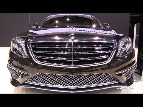 2015 Mercedes Benz S Class S65 AMG V12 BiTurbo -Exterior&Interior Walkaround -2015 Chicago Auto Show