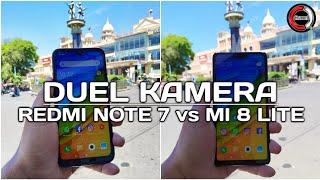Redmi Note 7 vs Xiaomi Mi 8 Lite Perbandingan Kamera
