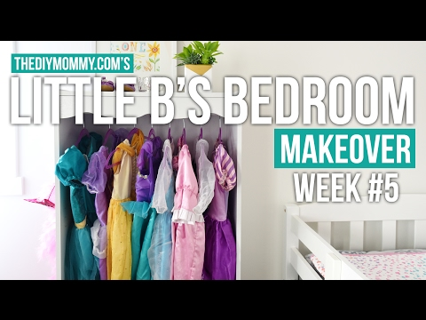 Dress-Up Storage Bookcase Hack: Little B's Bedroom Makeover Week 5