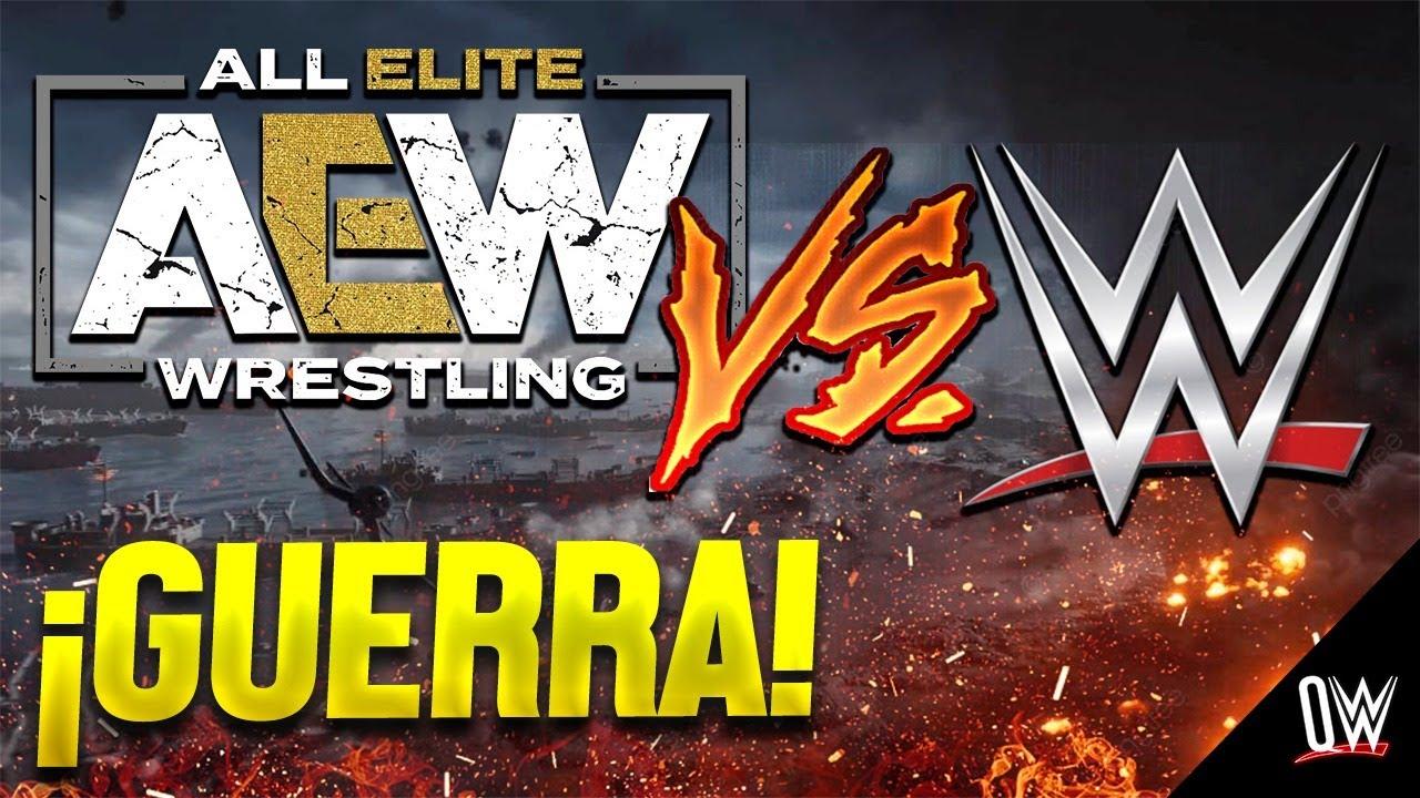 ¿WWE perderá la GUERRA con AEW?